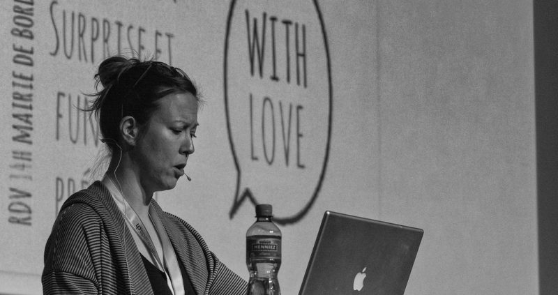 Jenny Beaumont at WordCamp Zurich