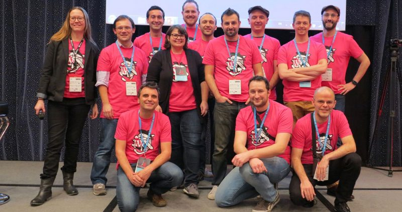 The WordCamp Paris 2016 Organizing Team